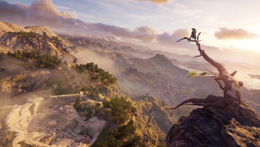 "L'ancienne Sparte de ""Assassin's Creed Odyssey"""