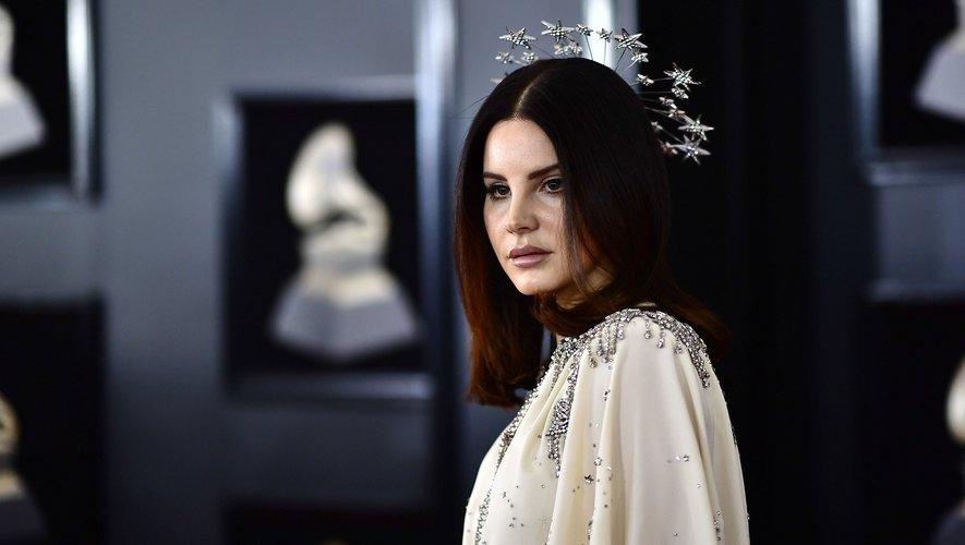 Lana Del Rey à son arrivée aux Grammy Awards, le 28 janvier 2018.