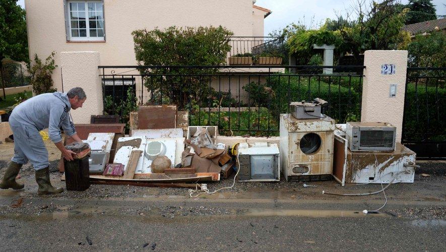 Inondations dans l'Aude : les secouristes aveyronnais toujours sur place