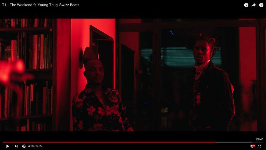 """T.I. dans son dernier clip """"The Weekend"""" avec Young Thug."""