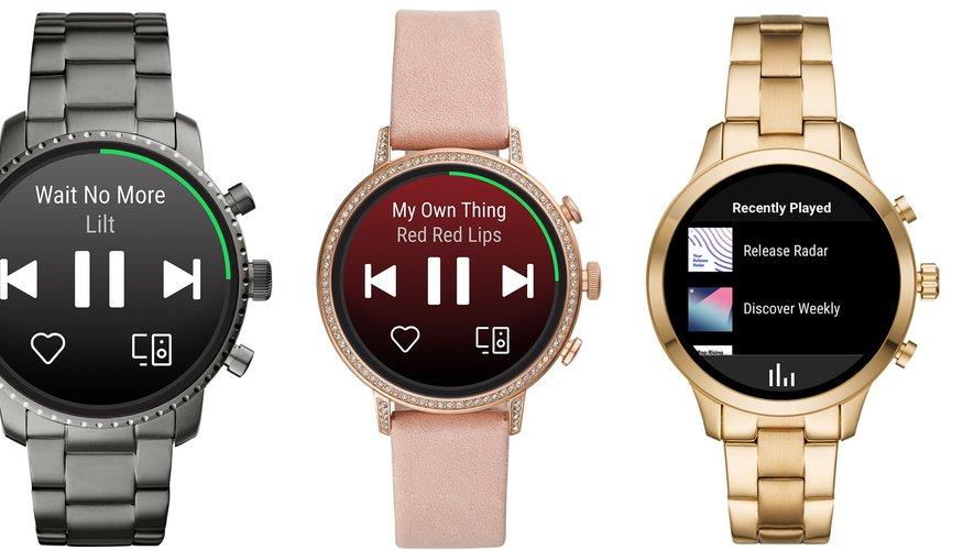 La nouvelle application Wear OS by Google permet d'écouter et contrôler Spotify depuis sa montre.