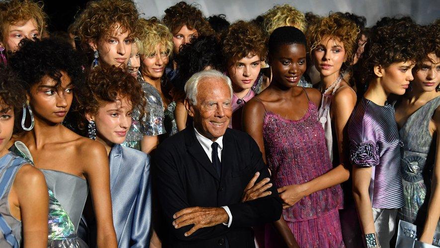 La maison Armani restera indépendante, a assuré son fondateur et styliste, Giorgio Armani