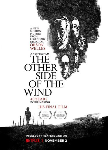 """The Other Side Of The Wind"" d'Orson Welles sera diffusé le 2 novembre sur Netflix"