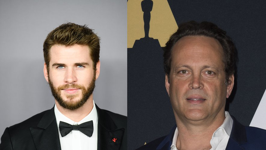 """Liam Hemsworth (à fauche) et Vince Vaughn se donneront la réplique dans """"Arkansas"""""""