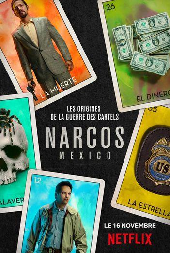 """""""Narcos : Mexico"""" est la quatrième saison de la série """"Narcos"""" lancée sur Netflix en 2015."""