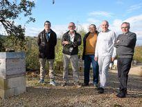 Les membres du syndicat L'Abeille de l'Aveyron, clé de voûte de l'épreuve de ce samedi.