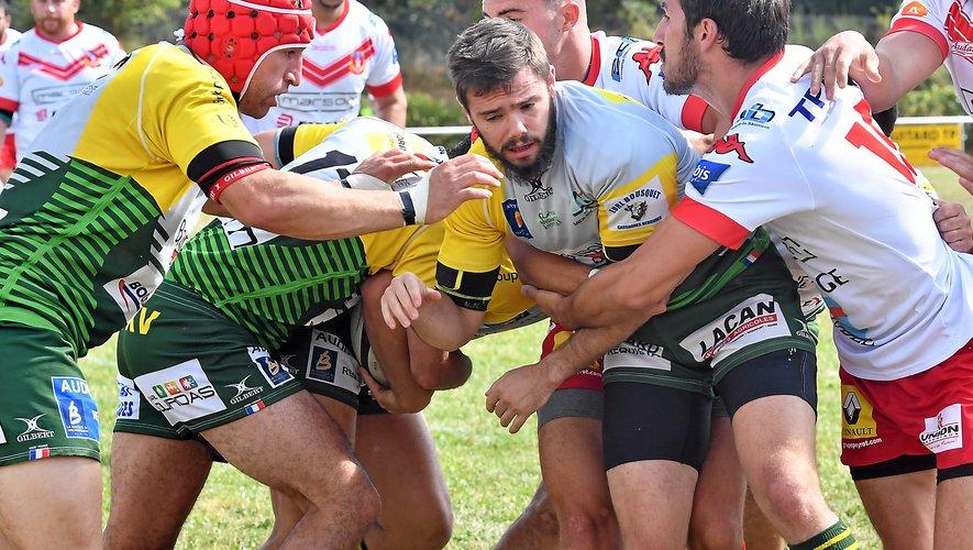 Rugby, Fédérale 2 : Decazeville, LSA et Millau tombent à l'extérieur
