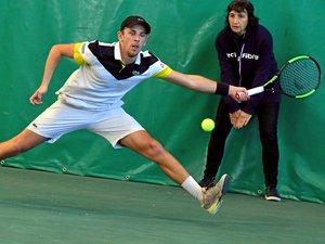 Tennis : Grégoire Jacq, vainqueur du tournoi de Rodez