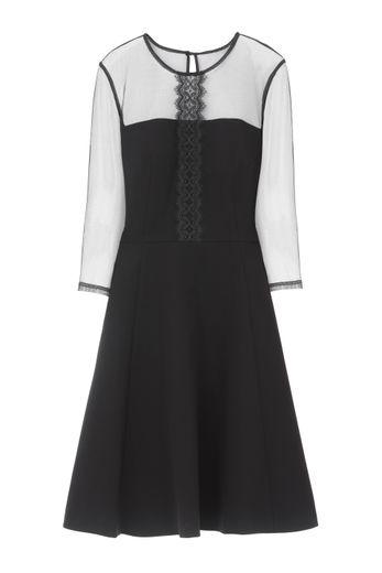 """La robe """"Nadia"""" issue de la collaboration entre Isabelle Wang et la marque 1.2.3."""