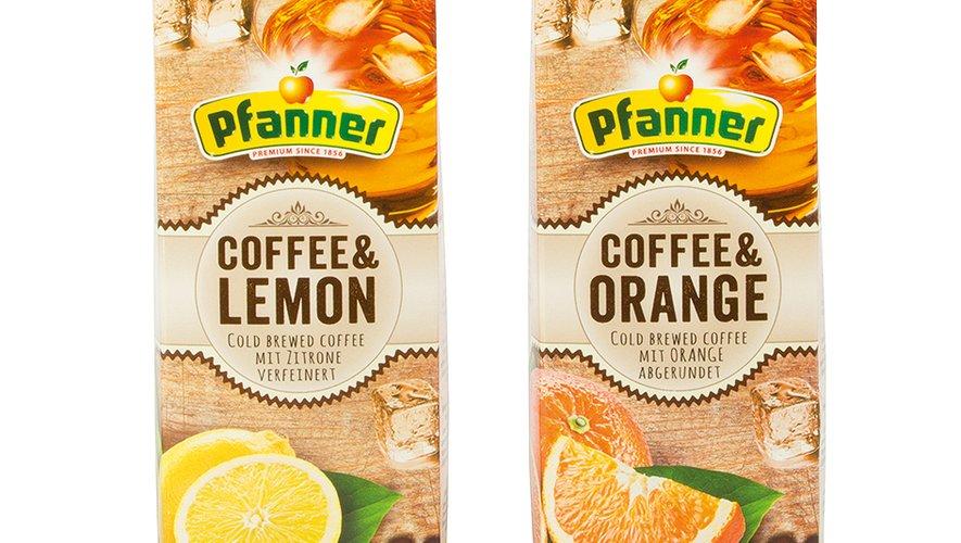 Du café froid au jus d'orange ou au jus de citron