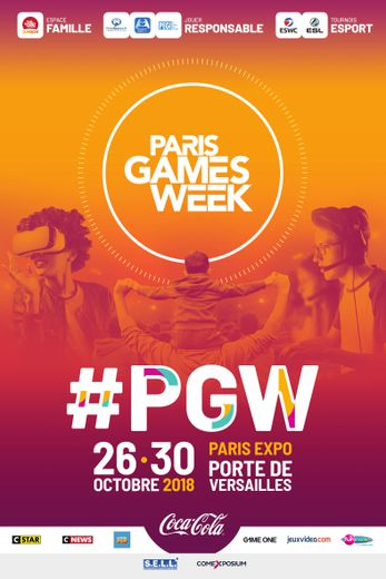 La Paris Games Week 2018 se déroulera du 26 au 30 octobre