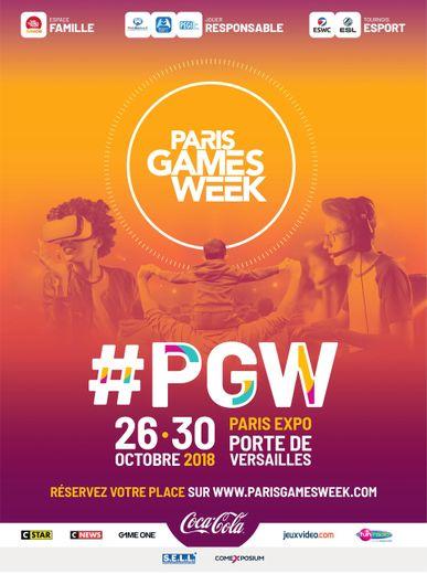 La Paris Game Week 2018 s'ouvrira le 26 octobre à la Porte de Versailles