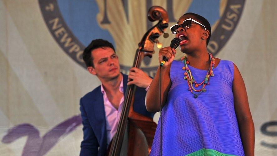 Cécile McLorin-Salvant a été désignée Voix de l'année aux Victoires du Jazz 2018.
