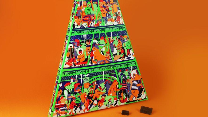 Le calendrier du Chocolat des Français
