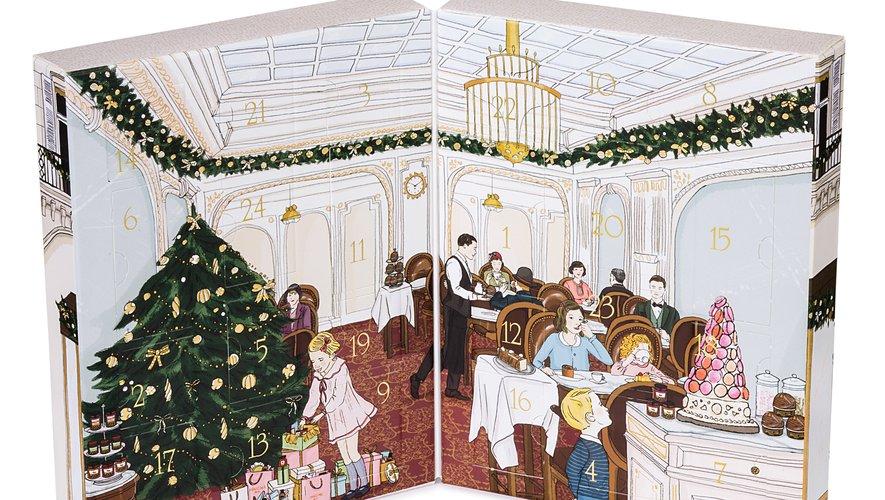 Le calendrier du salon de thé Angelina