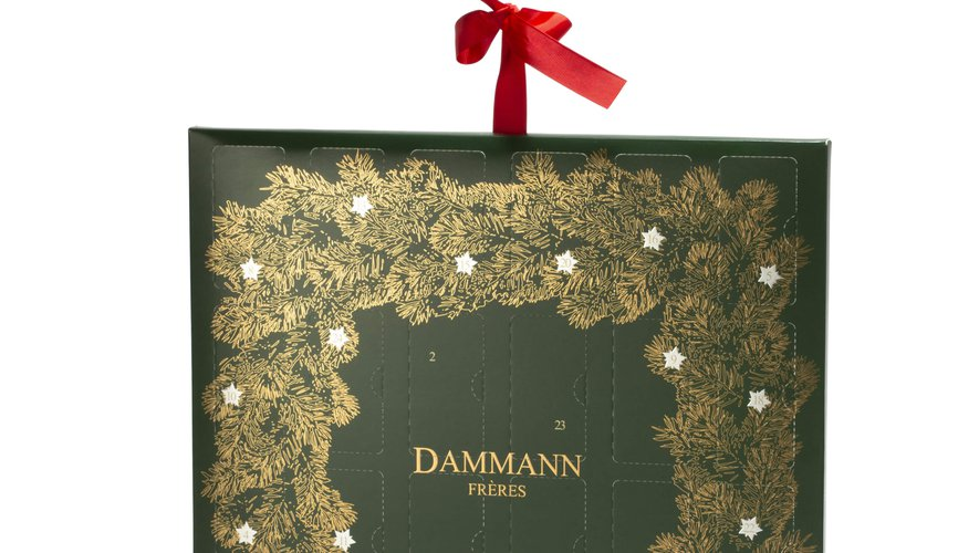 Le calendrier des thés Dammann Frères offre 8 saveurs inédites