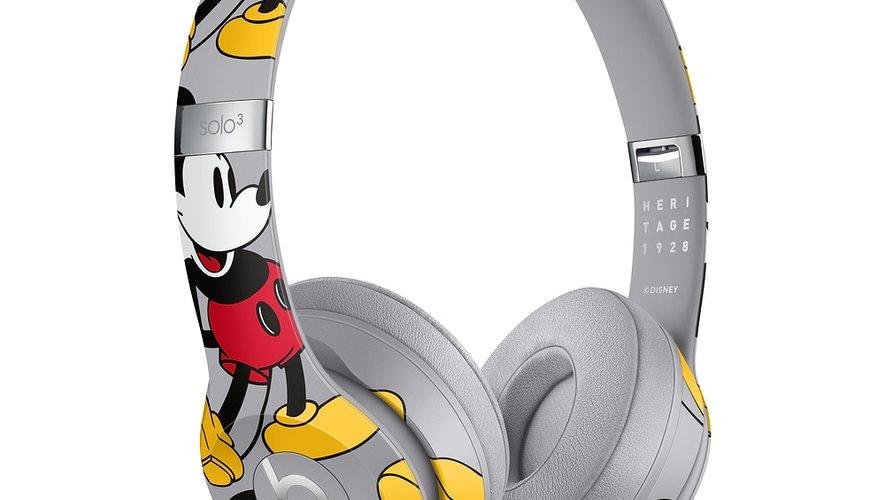Le casque Beats Solo3 sans fil, Édition 90e anniversaire de Mickey, sera commercialisé à 325,95 euros.