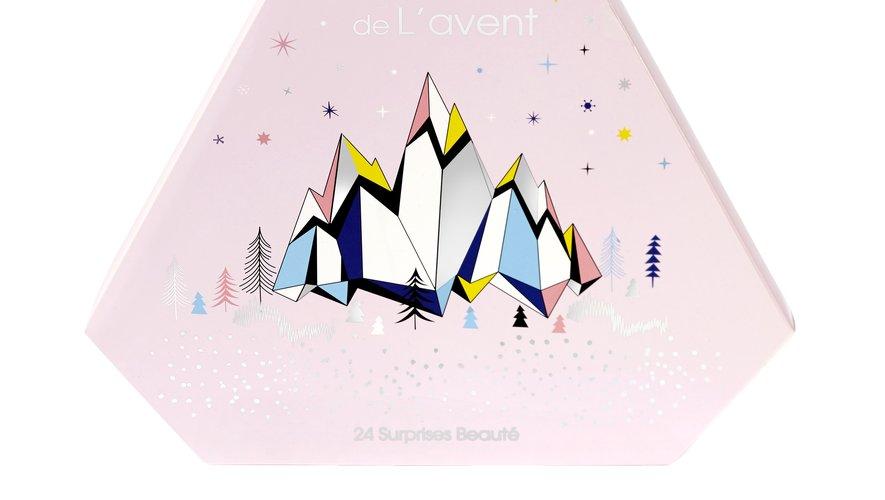 Le calendrier de l'Avent Monoprix - Prix : 19,99€ - Site : www.monoprix.fr.