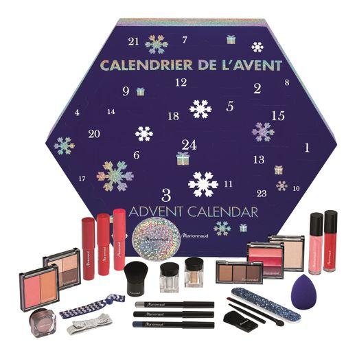 Le calendrier de l'Avent Marionnaud - Prix : 19,99€ - Site : www.marionnaud.fr.