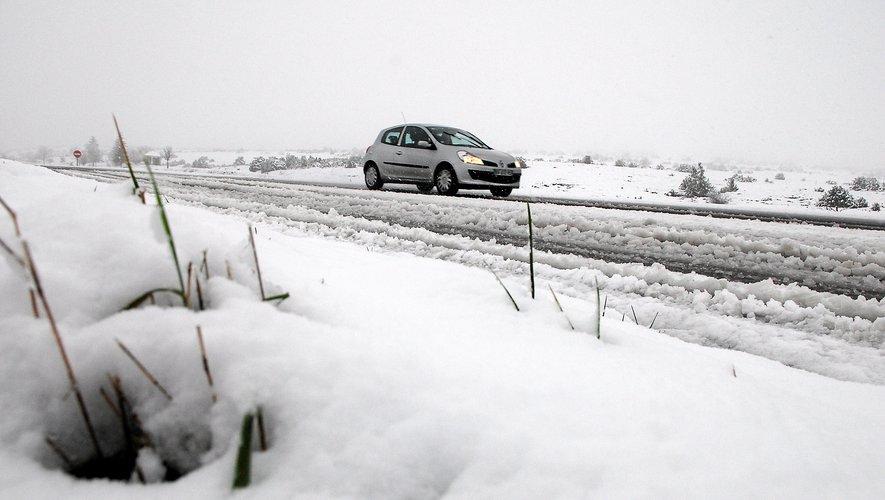La neige tombera demain en Aveyron.