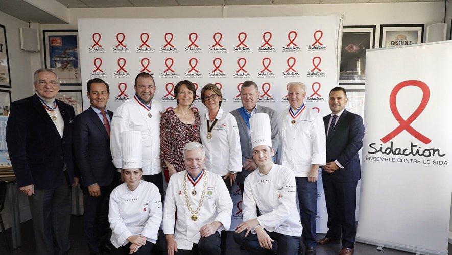 """""""Chefs solidaires"""", la campagne de lutte contre le sida créée par sidaction"""