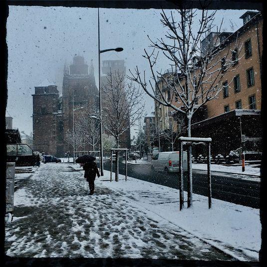 EN IMAGES - Les premières chutes de neige en Aveyron