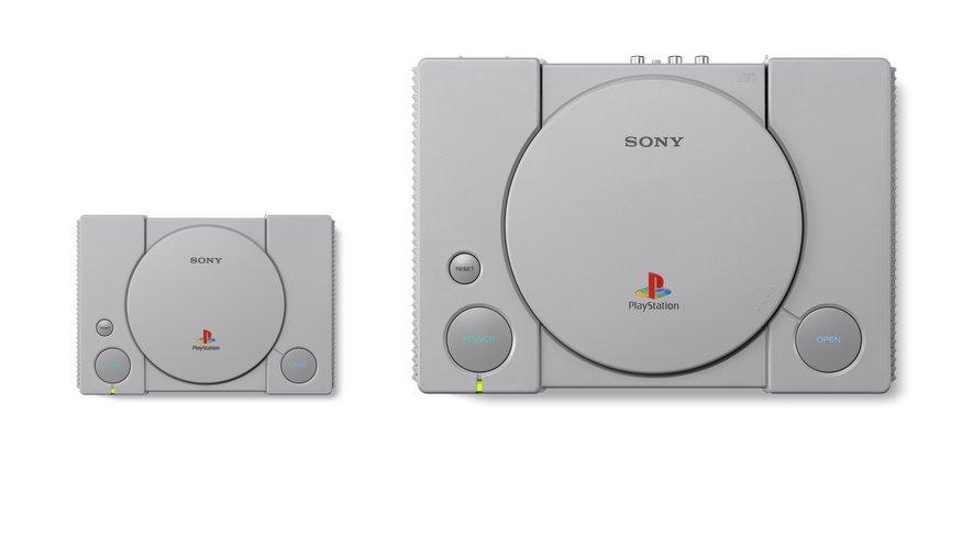 La PlayStation Classic et la Playstation d'origine