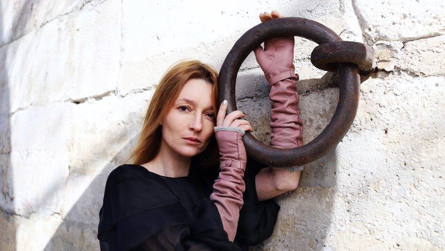 La collection d'Audrey Marnay pour Causse est déclinée en trois couleurs : rose poudré, bleu pétrole et vert sapin.