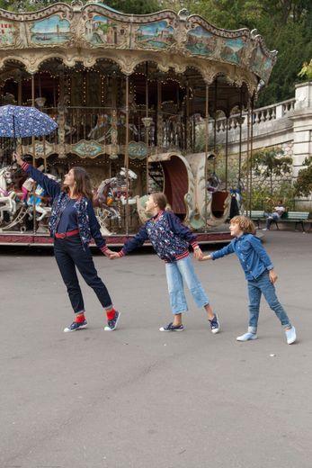 """Bensimon imagine une collection à l'effigie de Mary Poppins pour la sortie du film """"Le Retour de Mary Poppins""""."""