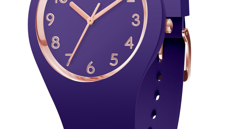 La montre ICE glam Ultra Violet en small par Ice-Watch - Prix : 89,90€ - Site : www.ice-watch.com.