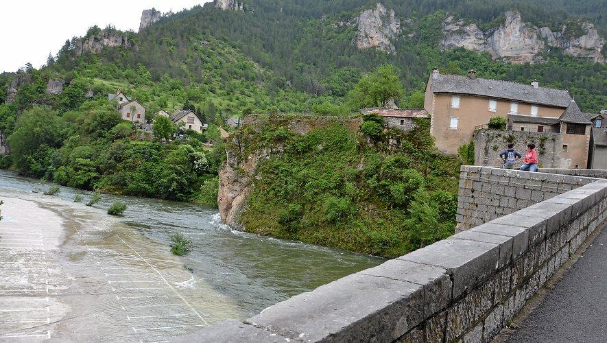 Un risque de crue dans le sud- Aveyron.