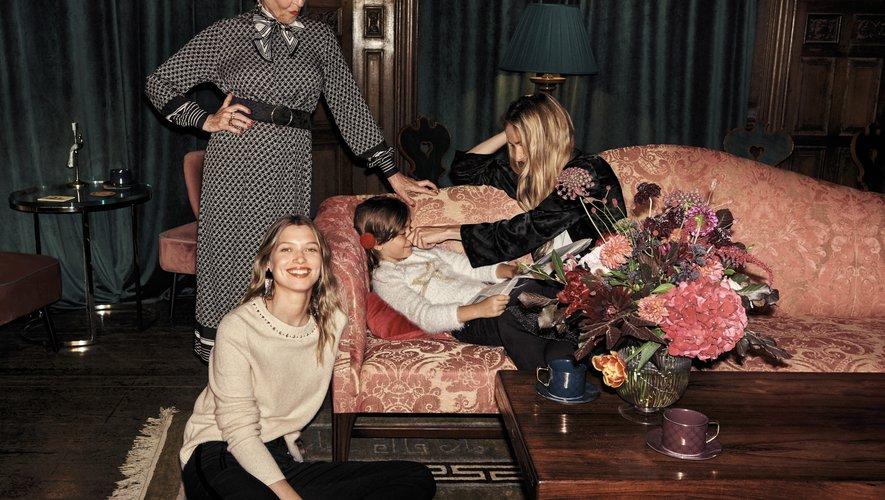 H&M propose des pièces pour toute la famille dans sa collection dédiée aux fêtes de fin d'année.