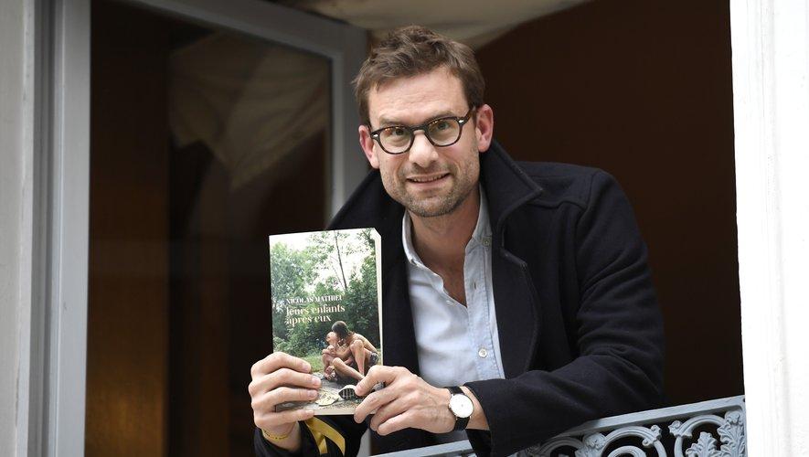 """Nicolas Mathieu a remporté le plus convoité des prix littéraires francophones, le Goncourt, avec """"Leurs enfants après eux"""""""