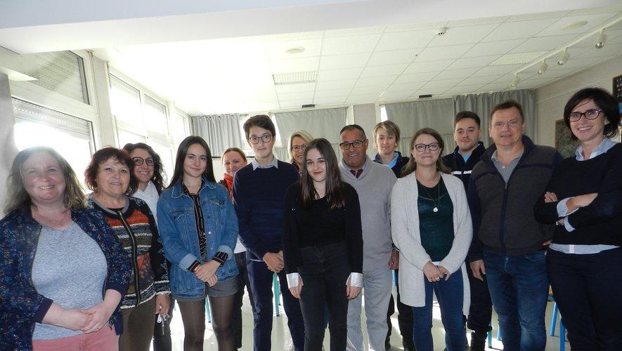 Un forum des métiers a été organisé dans l'établissement en début de semaine.