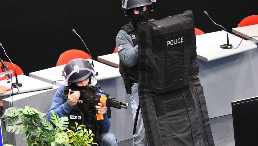 Rodez : les Archives départementales théâtre d'une tuerie de masse fictive
