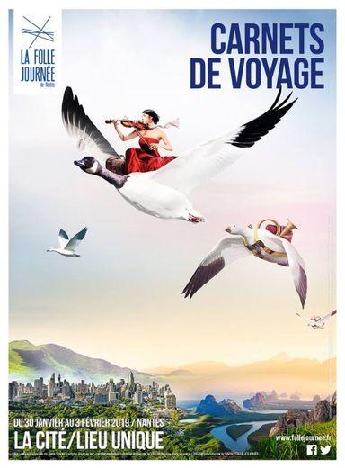 """La 25e édition du festival de musique classique nantais """"La Folle Journée"""" (30 janvier-3 février 2019) aura pour thème le voyage"""