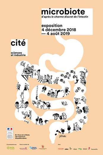 """Exposition """"Microbiote"""" du 4 décembre 2018 au 4 août 2019"""