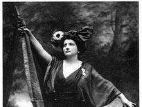 La cantatrice Emma Calvé était une grande patriote