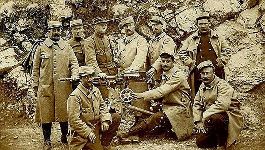 Les Aveyronnais dans la Grande Guerre.