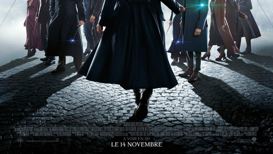"""""""Les Animaux fantastiques : Les Crimes de Grindelwald"""" réunit Eddie Redmayne, Jude Law et Johnny Depp."""