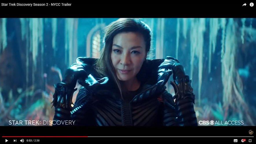 """Michelle Yeoh dans la série """"Star Trek : Discovery"""""""