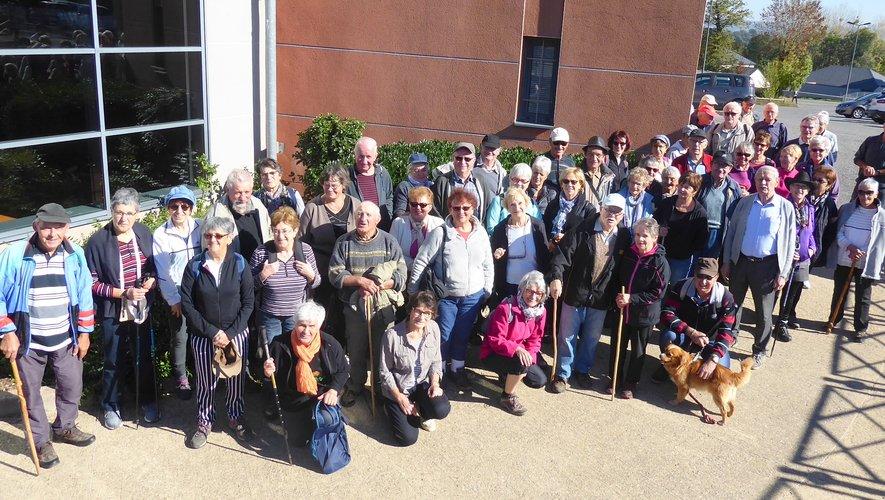 Les participants aux randonnées proposées.