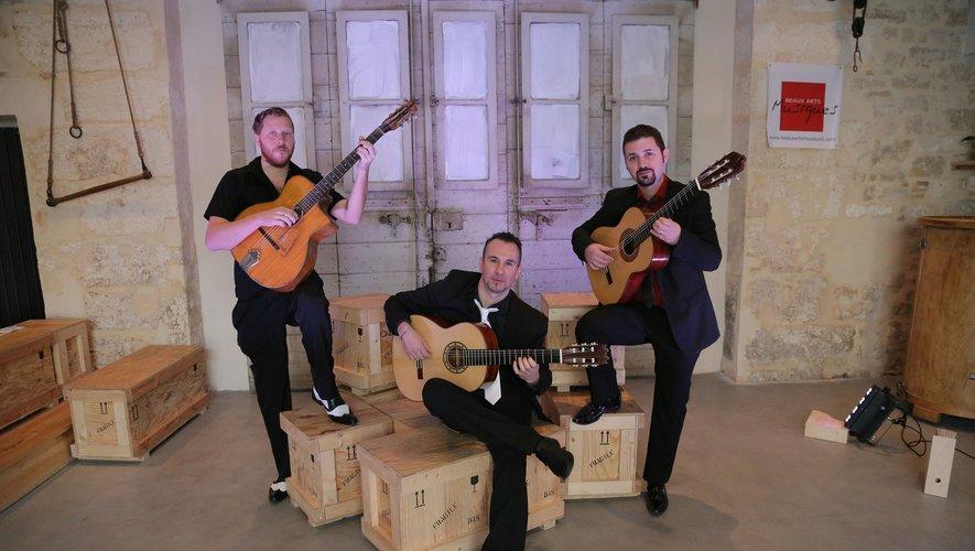 Jeudi 22 novembre, concert de l'ensemble, Maestrio à l'occasion de la sortie de leur nouvel album, alliant le classique, le jazz manouche et le flamenco.