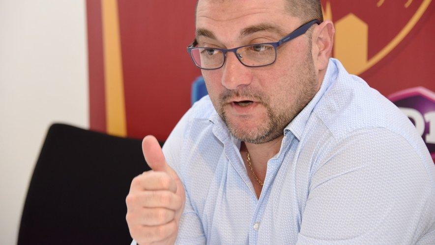 Pierre-Olivier Murat, le président du Rodez Aveyron football