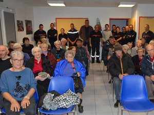 Les résidants des Fontanilles s'invitent au centre de secours