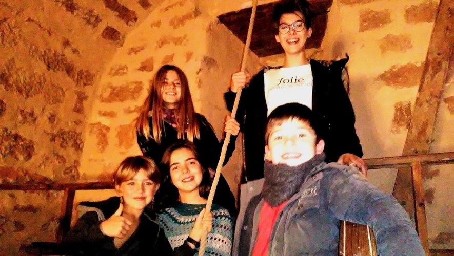 À Mondalazac, ce sont des enfants du village qui ont sonné les cloches