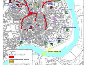 Le plan de stationnement remodelé