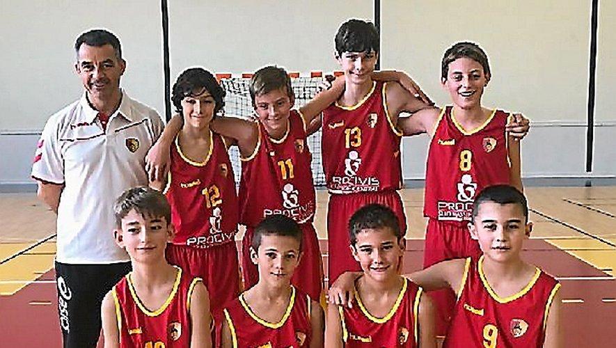 L'équipe I des U13 garçons a attaqué par une nette victoire (84-21) à Bessières.