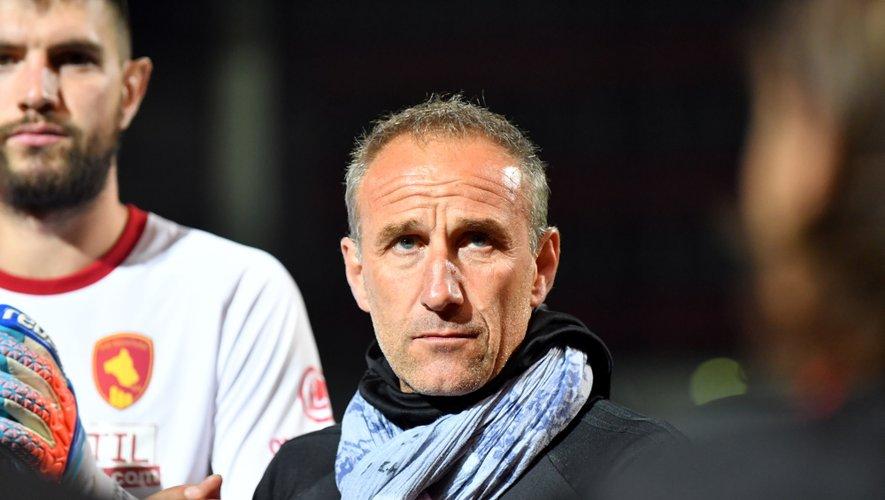 Laurent Peyrelade, l'entraîneur de Rodez.