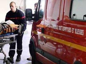 L'homme a été évacué sur le centre hospitalier de Villefranche-de-Rouergue.